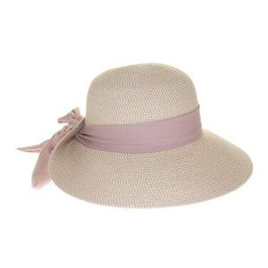Nine West packable floppy scarf wide brim hat